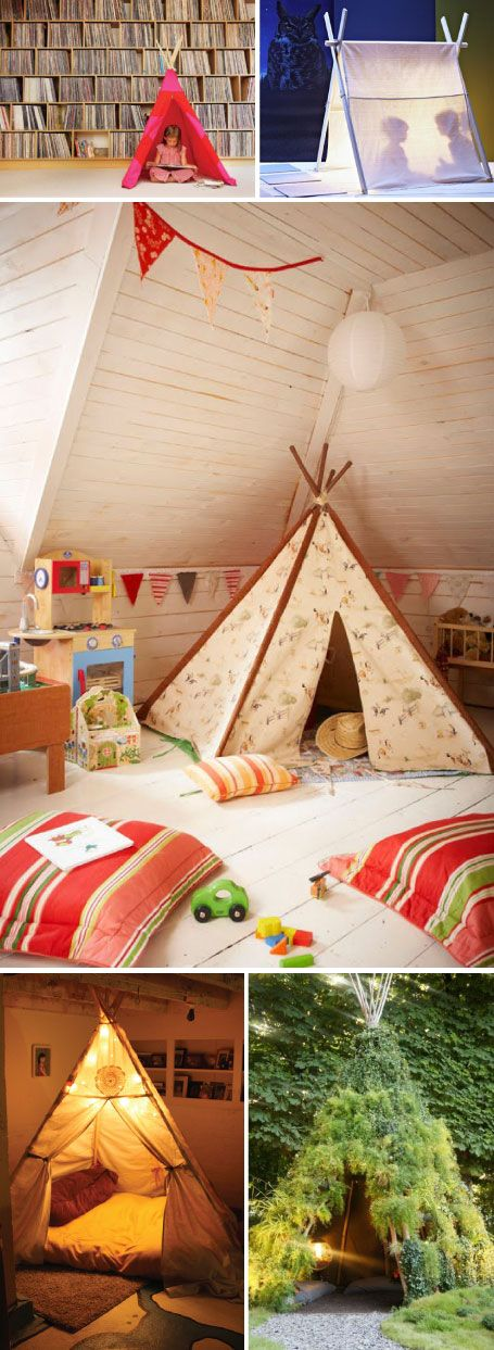 *Mi siguiente experimento: Idea, Boys Bedrooms, Plays Rooms, Boys Rooms, Teepees, Plays Spaces, Plays Area, Attic Playrooms, Kids Rooms