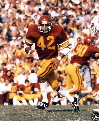 Ronnie Lott USC Trojans Football 8x10