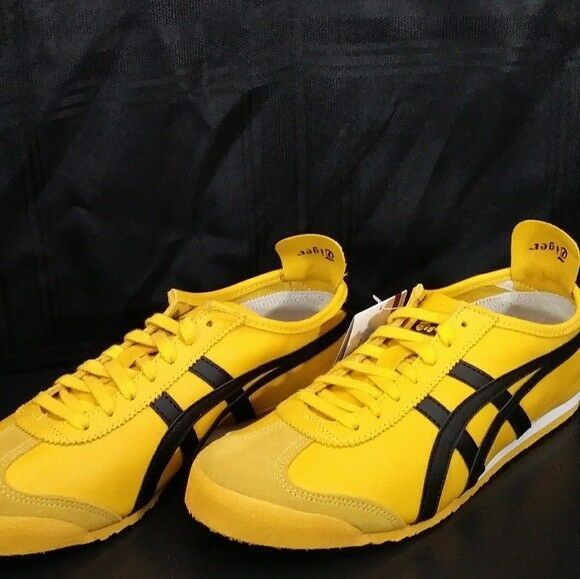 finest selection b1076 1a34d eBay link) Asics Onitsuka Tiger MEXICO 66 Yellow Black DL408 ...