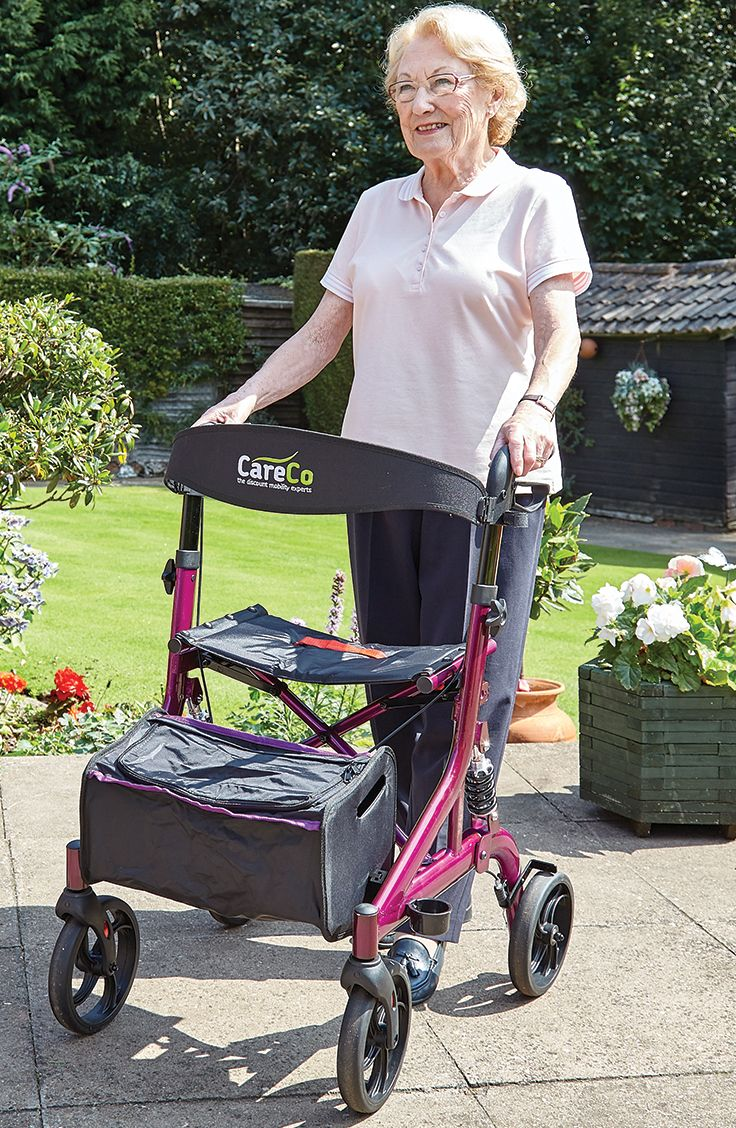 With its sophisticated suspension system the Evo Suspension Rollator will help prevent aches and pains caused throughout the body when on the move.
