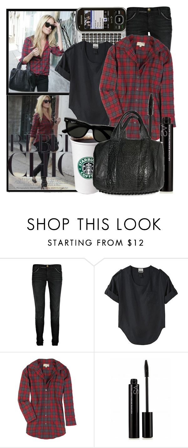 """PERFECT MATCH - Kristin Cavallari"" by cherry95 ❤ liked on Polyvore featuring Kristin Cavallari, BOBBY, Samsung, Current/Elliott, Under.Ligne, November, Elizabeth and James, Costa, Victoria's Secret and Alexander Wang"
