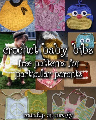 10 Free Crochet Baby Bib Patterns