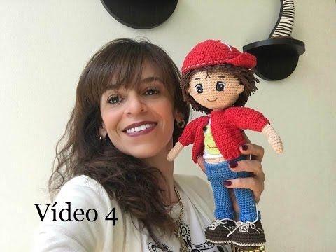 Como tejer cuerpo amigurumi muñeco Mauricio By Petus CUARTA PARTE - YouTube