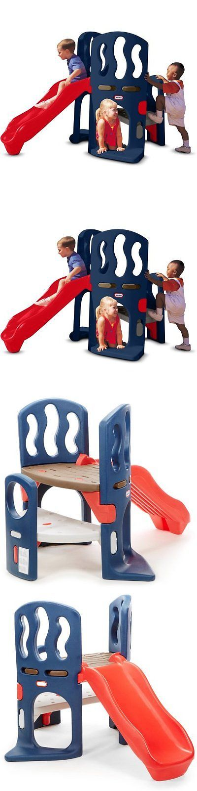 Swings Slides and Gyms 16515: Little Tikes Hide Slide Climber W -> BUY IT NOW ONLY: $167.12 on eBay!