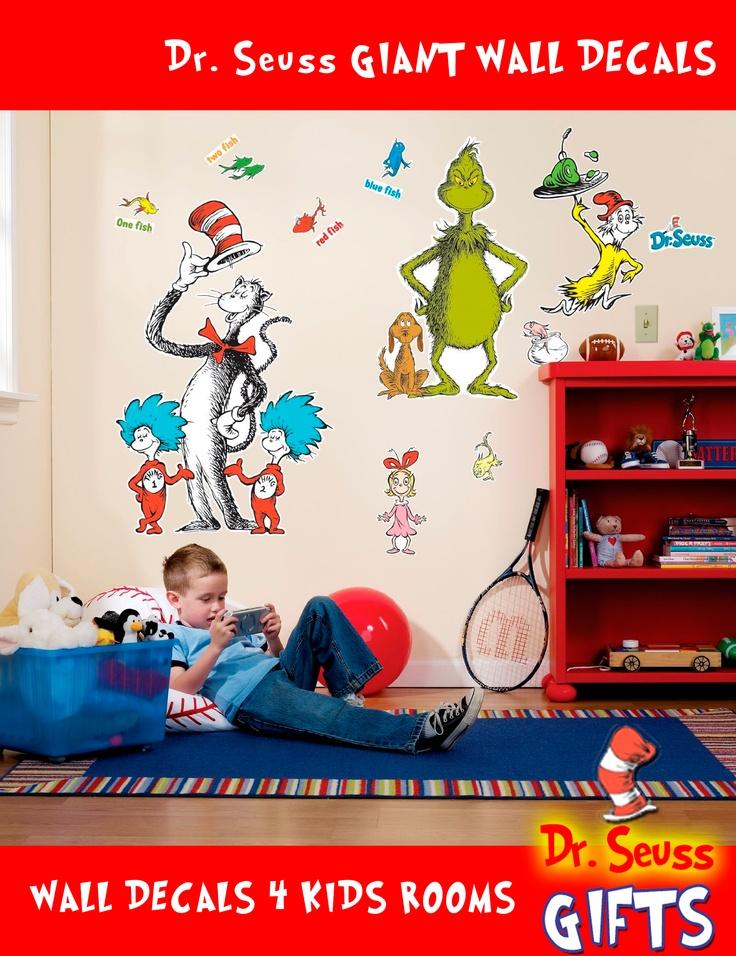 Dr Seuss wall decals