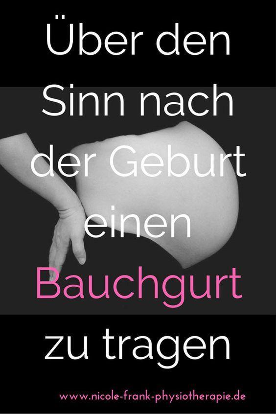 Schmerzfrei in der Schwangerschaft, in der Rückbildungszeit.