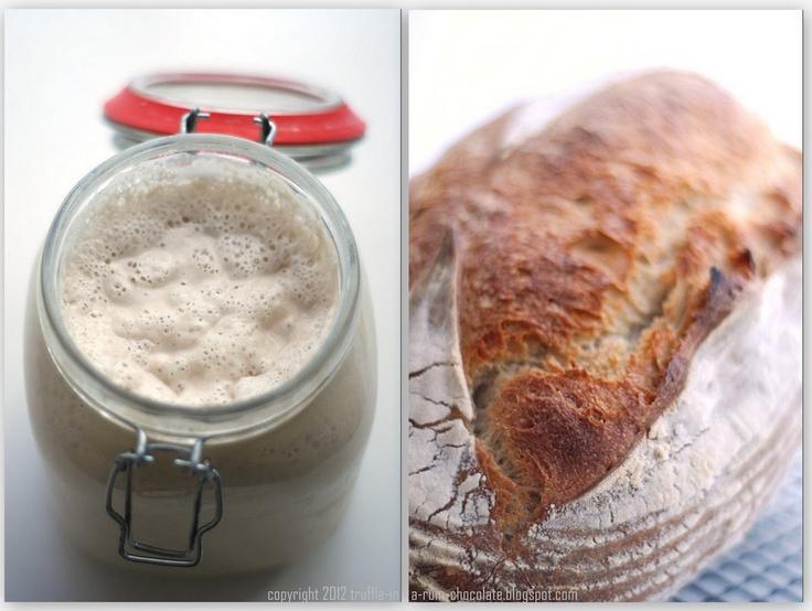 Trufla: Chleb pszenny z Bourke Street Bakery