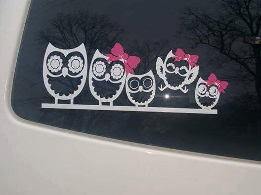 Best Car Decals Images On Pinterest Car Decals Etsy Shop And - Family car sticker decalsfamily car decal etsy