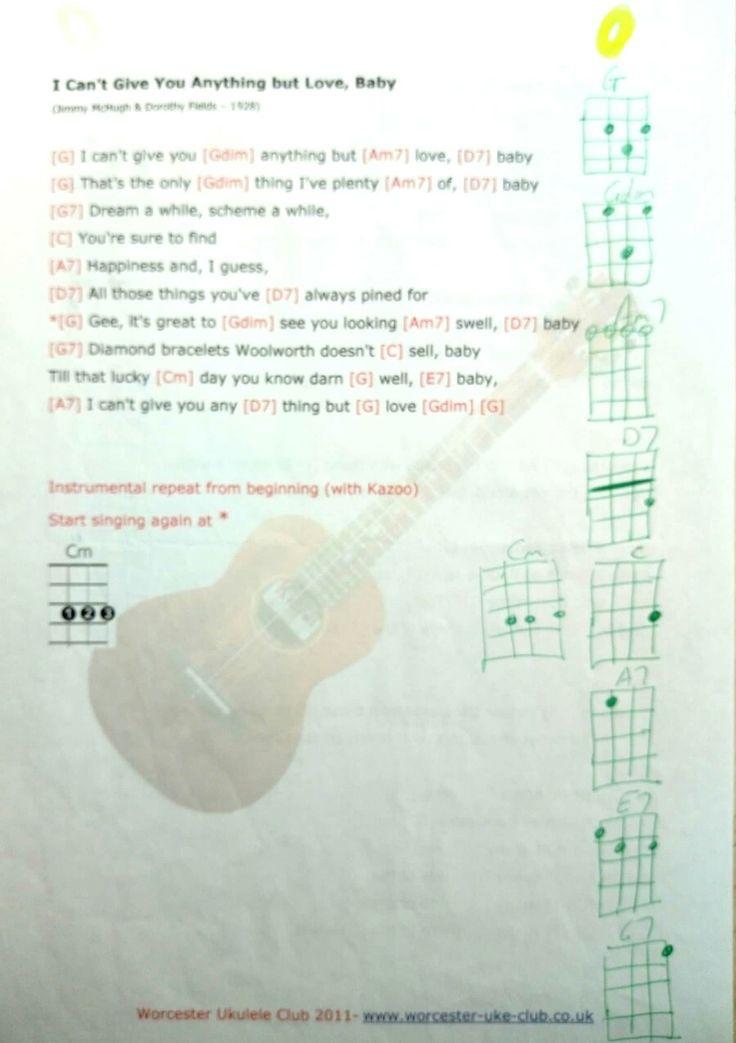 489 Best Yes Uke Can Images On Pinterest Ukulele Chords Sheet