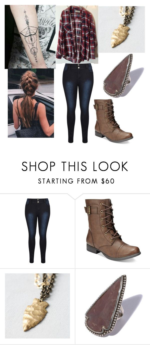 """Arrowheads."" by katrinaevans-i ❤ liked on Polyvore featuring Brandy Melville, American Rag Cie and Pamela Love"