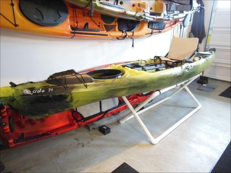 DIY – Folding Kayak Stand.