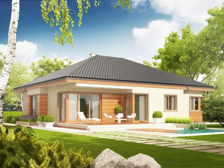 Projekt domu AC Eris G2 (wersja C) - DOM AF2-71 - gotowy projekt domu