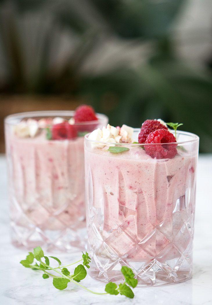 hindbærfromage opskrift