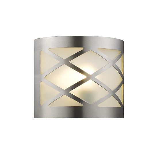 Chloe lighting aries transitional 1 light ada wall sconce