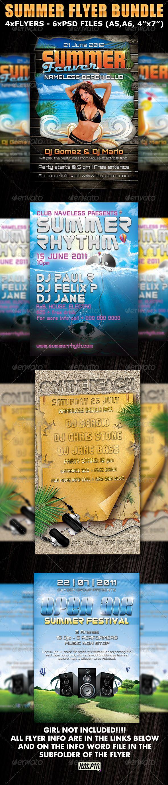 Summer Party_Club Fyers Templates Bundle