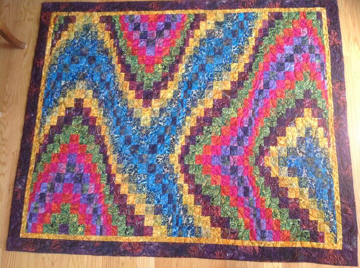 Bargello Quilt Pattern From Book Jelly Roll Inspirations
