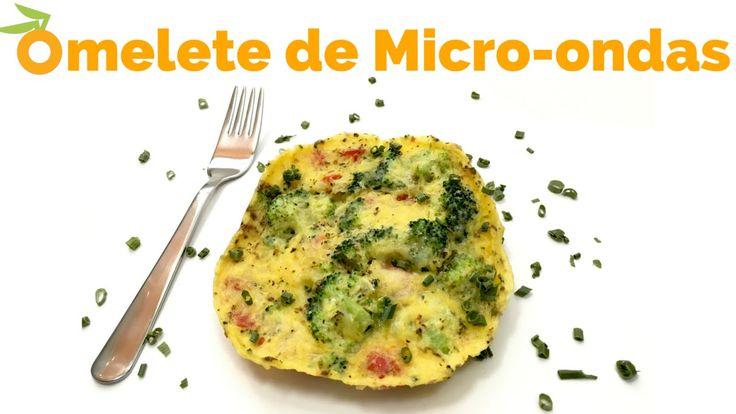 Receita: Como fazer Omelete em 2 minutos no micro-ondas