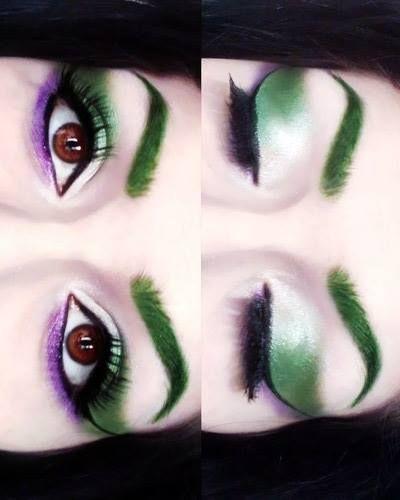 The Joker inspired makeup