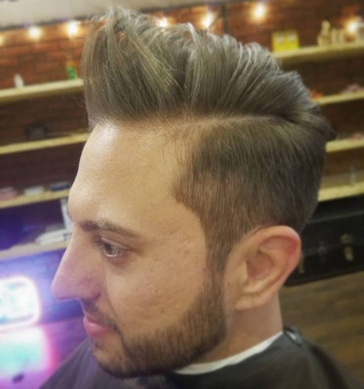 "notyourfathersbarbershop: ""Styled with Reuzel  Clay. . . @AppLetstag #shave #beard #barber #haircut #barbershop #hair #razor #barberlife #shaving #selfie #clean #straightrazor #fade #cut #fresh #mustache #men #style #barbershopconnect #grooming..."
