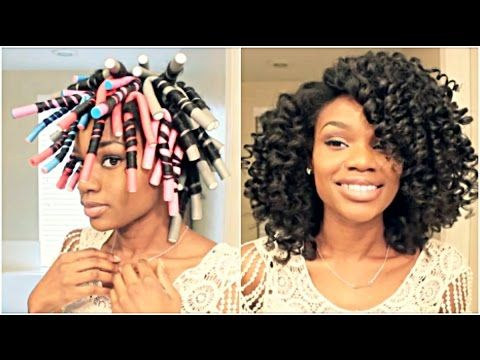 Flexi Rod Styles For Natural Hair