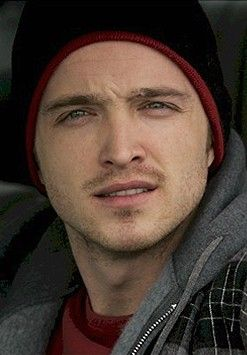 Jesse Pinkman... I think I was in love with him the second he fell off that roof...