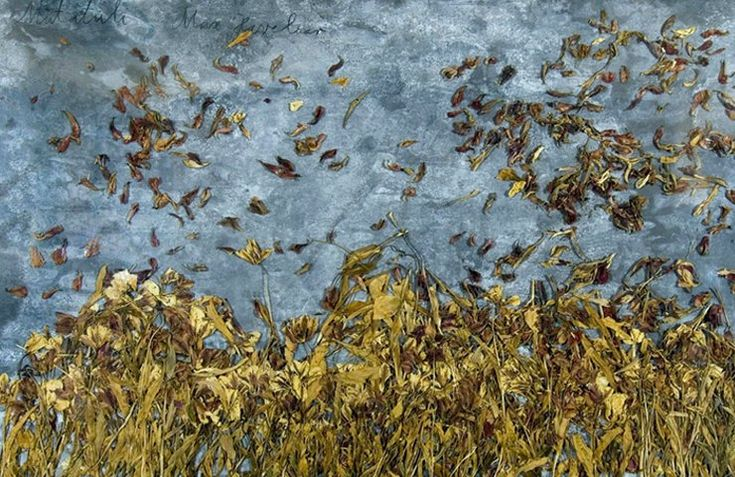 ANSELM KIEFER (1945), GERMAN PAINTER – The Neo-Expressionist artist who draws with unusual media