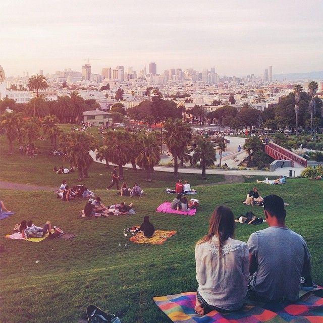 San Francisco evenings. Photo courtesy of thiagodadalt on Instagram.