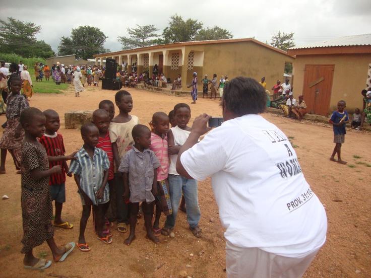 In the village of Vea in the Bolgatanga Region of Ghana