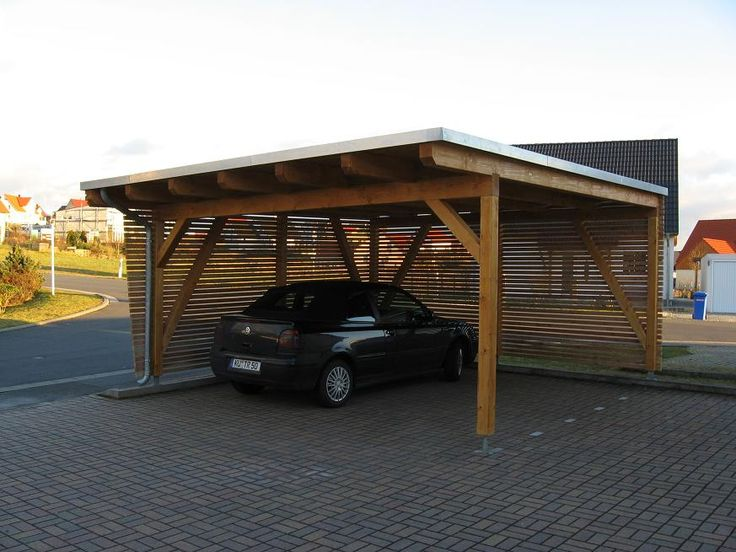 Deep 2 Car Carport : Carports wooden kits innovation pixelmari