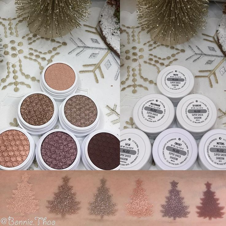 Swatches of the @colourpopcosmetics Mile High super shock eyeshadow collection. . . . L-R: Truth, Nillionare, So Quiche, LaLa, Cricket, Mittens #makeup #motd #makeupoftheday #colourpop #colourpopcosmetics #colourpopcult #colourpopme #colourpopshadows #colourpopcollection #colourpopsupershock #colourpopsupershockshadow #eyeshadows #eyeshadowcollection #eyeshadowhaul #makeuphaul #haul #colourpophaul #beautyhaul #colourpopmilehigh #eyeshadowswatch #christmasloveswatch #swa...