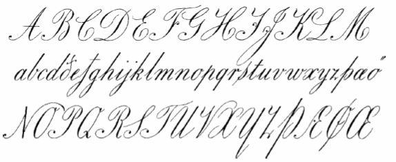 Copperplate font ba honours asos victorian design