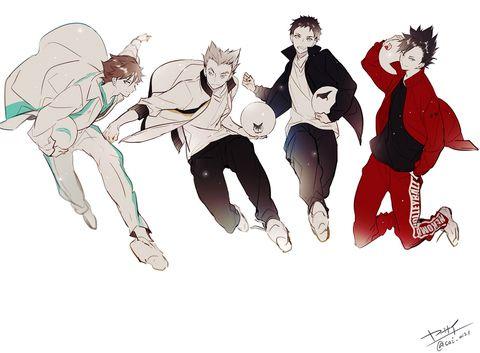 「ハイキュー!!ごちゃまぜ」/「❀ヤサイ✿」の漫画 [pixiv] #haikyuu #anime
