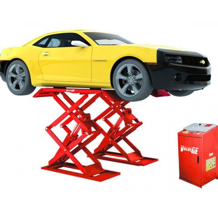Tyre Equipment Direct - 3 Tonne Full-Rise Scissor Vehicle Lift