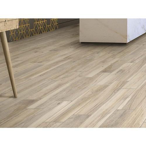Hard Cream Wood Plank Porcelain Tile Floor Decor Wood Look Tile Floor Wood Grain Tile Wood Floor Bathroom