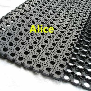 Outdoor Rubber Flooring/Drainage Rubber Mat/Anti Slip Rubber Mat on Made-in-China.com
