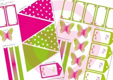 Printables Schmetterling