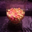 Large Open Candy Vase