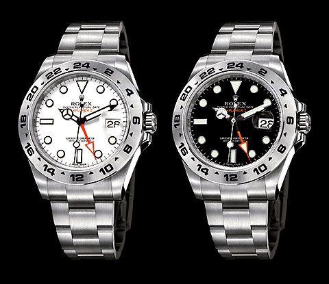 Rolex Explorer II  - white or black?