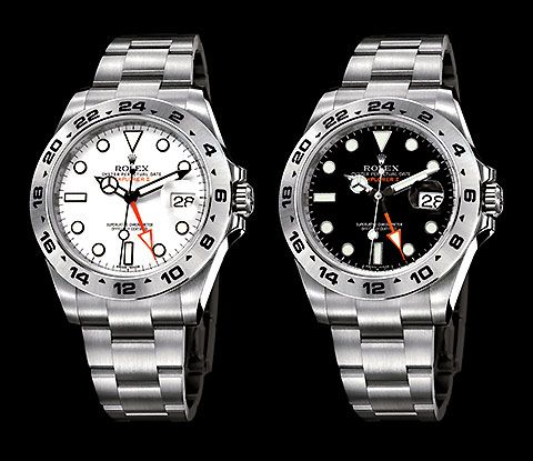 Rolex Explorer II  - white or black?