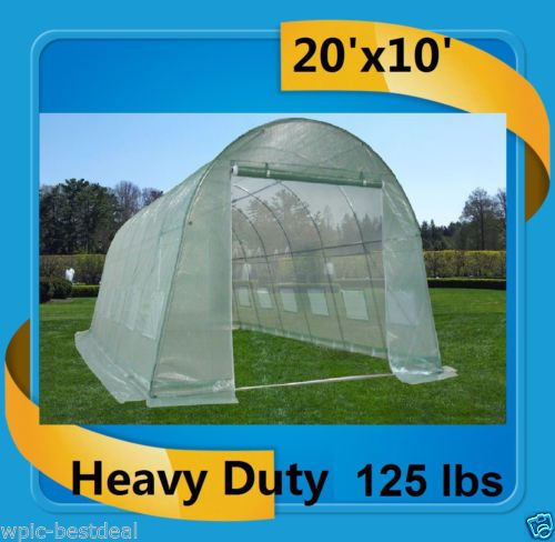 Green-Garden-House-Walk-In-Greenhouse-20x10-Total-Weight-125-Pounds