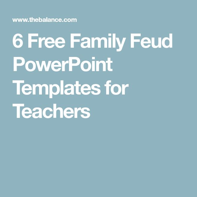 Yli 25 ainutlaatuista ideaa Pinterestissä Free family feud game - family feud power point template