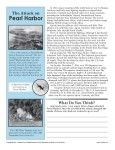 The Attack on Pearl Harbor | 7th Grade Reading Comprehension Worksheet