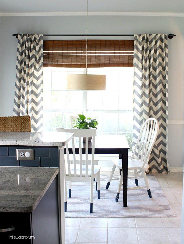 recreate this galvanized curtain rod