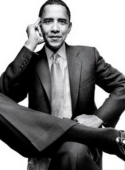 Annie Leibovitz - President Obama                                                                                                                                                      More