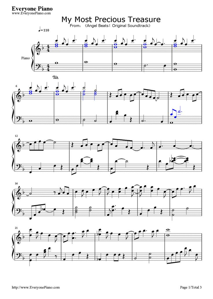 All Music Chords part of your world sheet music free : 23 best Sheet music images on Pinterest | Sheet music, Music notes ...