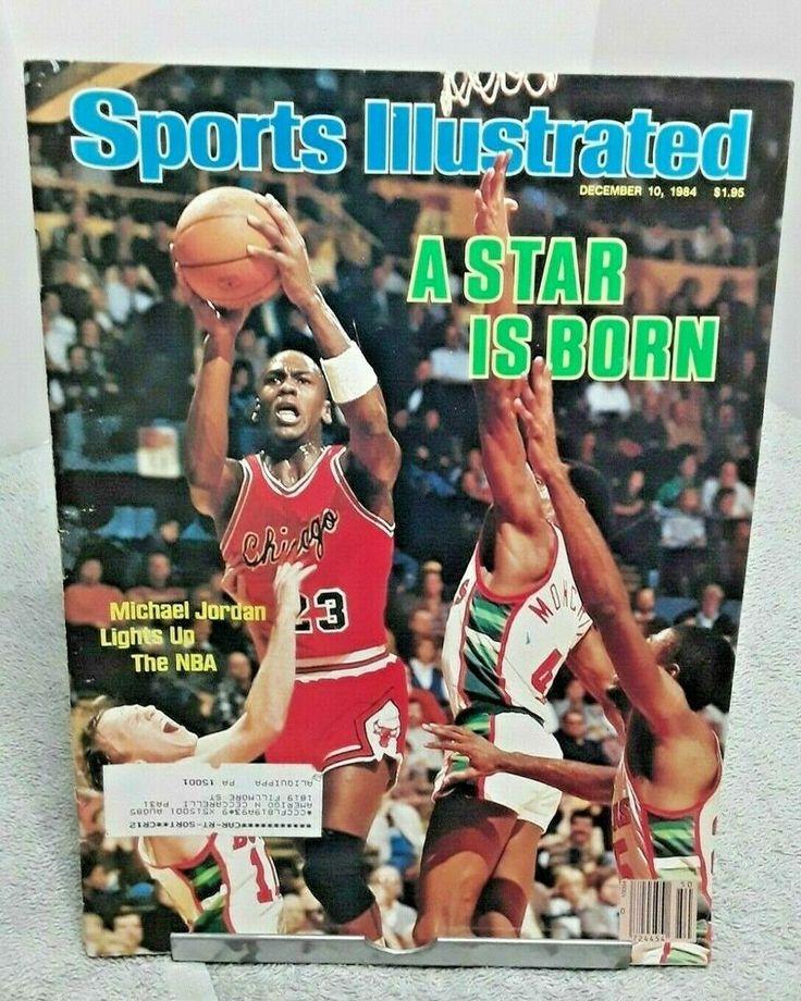 Sports Illustrated December 1984 Michael Jordan First Pro
