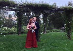 """Melissa Gilbert has made her little house on the prairie with Timothy Busfield. The couple was married on Wednesday in California """"in a private ceremony at San Ysidro Ranch in Santa Barbara,"""" her rep confirmed to People."""