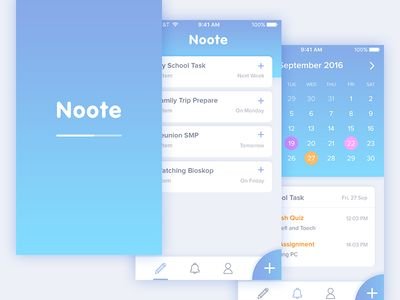 Noote Final Version (UX Implementation)