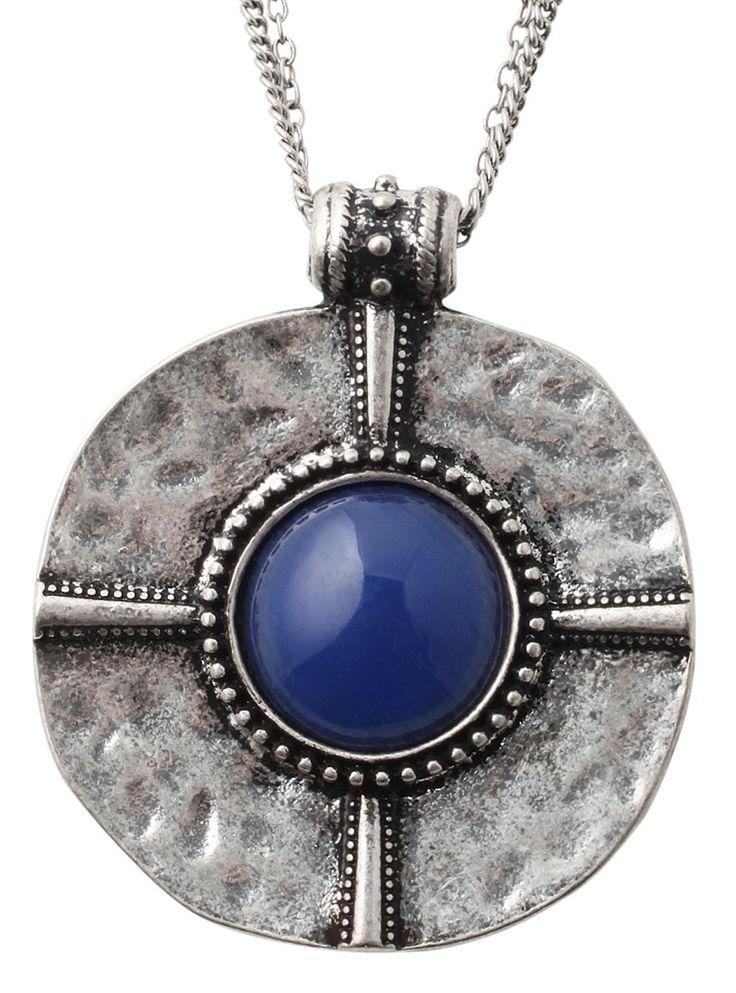 Bijou Brigitte Kette Antik Kreis Blau Wishlist Pinterest Bijoux