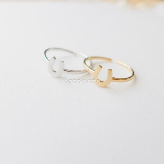 Hey, I found this really awesome Etsy listing at https://www.etsy.com/listing/167448555/horseshoe-ring-in-gold-or-silver-luck
